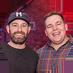Portrait of client Jeff and Steve ENDVR